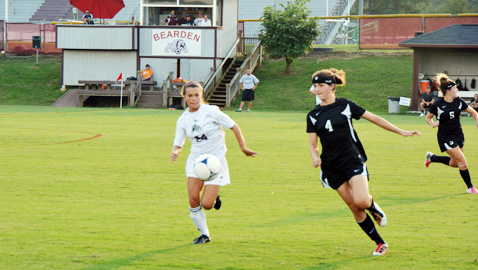 Houston downs Lady Bulldogs at Invitational