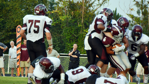 Fulton's defense and speed beats Bearden 52-0