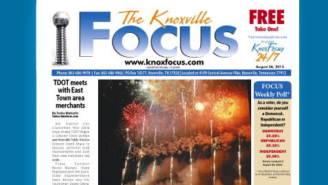 Knoxville Focus for Monday, August 26