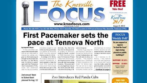 Knoxville Focus for August 5, 2013