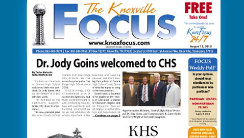Knoxville Focus for August 12, 2013