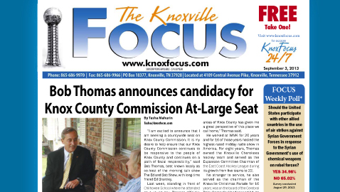 Knoxville Focus for September 3, 2013
