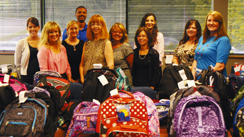 KAAR donates over 200 backpacks to area youth