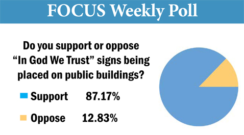 Focus Poll for August 5