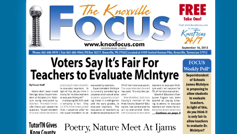 Knoxville Focus for September 16, 2013