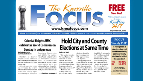 Knoxville Focus for September 30, 2013