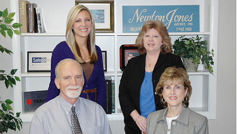 Newton Jones Agency, Insurance since 1966