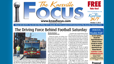 Knoxville Focus for October 7, 2013