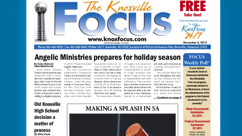 Knoxville Focus for Monday, November 4, 2013
