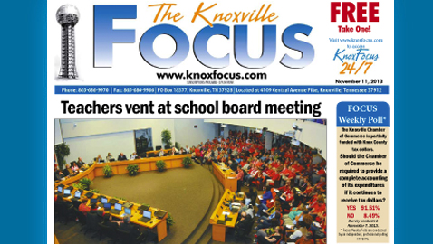 Knoxville Focus for Monday, November 11