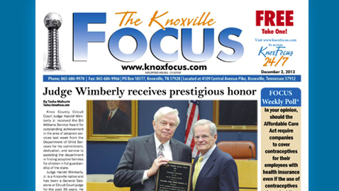 Knoxville Focus for December 2, 2013