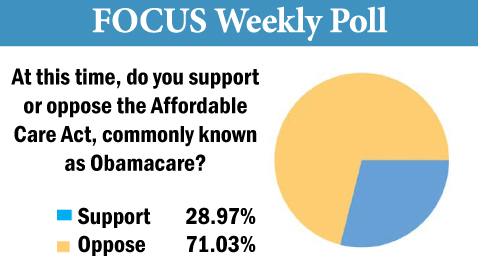 Focus poll for November 18