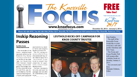 Knoxville Focus for December 23, 2013