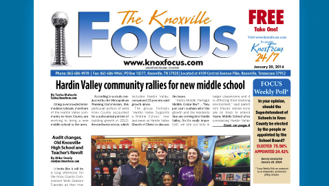 Knoxville Focus for January 20, 2014