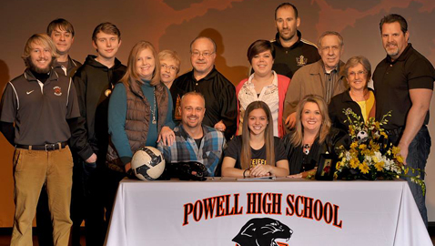 Gilley to play soccer at Pfeiffer University