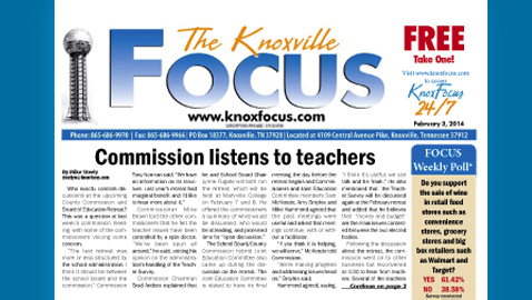 The Knoxville Focus for February 3, 2014