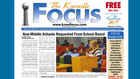 The Knoxville Focus for February 10, 2014