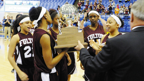 Lady Falcons exceed expectations, earn Silver Ball