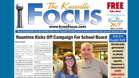 Knoxville Focus for Monday, March 10