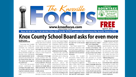 Knoxville Focus for April 21, 2014