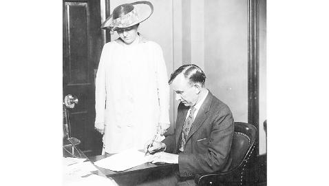 Governor Albert H. Roberts