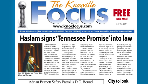 Knoxville Focus for Monday, May 19, 2014