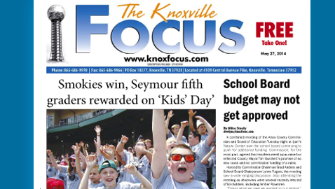 Knoxville Focus for Tuesday, May 27, 2014