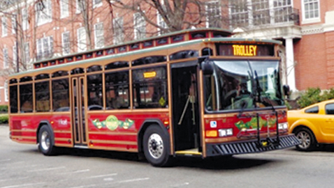 Our Neighborhoods The Downtown Trolley The Knoxville Focus