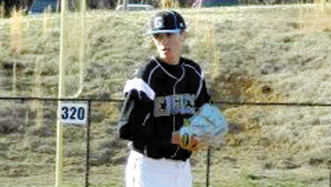 Andrew Willis, a left-handed pitcher and outfielder for Gibbs High School, recently committed to Tusculum. He'll sign a National Letter of Intent in November at Gibbs.