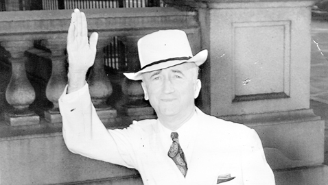 From the author's personal collection. A jaunty Secretary of State James F. Byrnes in 1945