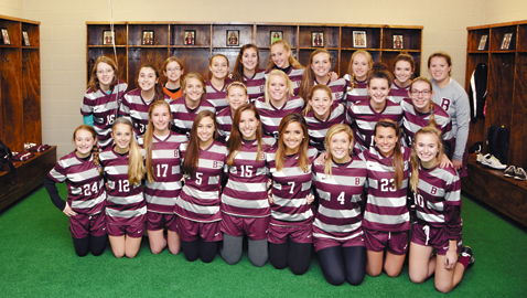 By Dan Andrews. The Bearden High School girls soccer team celebrated the opening of the new locker room complex at Bruce Allender Field Tuesday night. The Lady Bulldogs donned new uniforms on an evening that included an intersquad scrimmage.