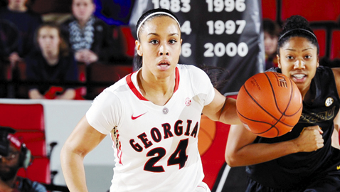 Marjorie Butler, Webb School product, has overcome knee and shoulder injuries to become starting point guard at Georgia.