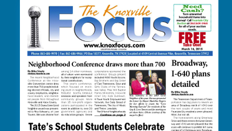 Knoxville Focus for February 9, 2015