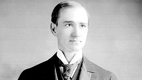 From the author's personal collection; original in the Library of Congress. Congressman Finis J. Garrett of Dresden, Tennessee at the time of his election to Congress, circa 1904.