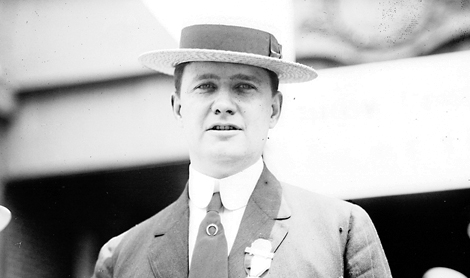 Photo from the author's personal collection. Senator Luke Lea at the 1912 Democratic National Convention.