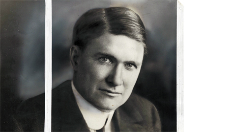 Photo from the author's personal collection. Portrait of Senator Luke Lea of Tennessee.