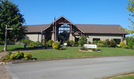 The Young-Williams Animal Center's main adoption facility is located on Division Street, just off Sutherland Drive at the entrance to John Tarleton Park. The Lost and Found Department entrance is located on the west side of the building. Photo by Mike Steely.