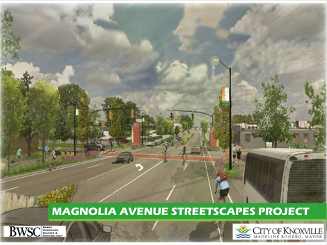 Design details for proposed Magnolia Avenue streetscape improvements available on city's website