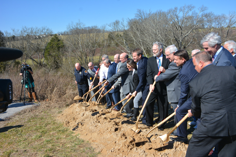 Ground broken for new middle schools