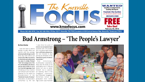 The Knoxville Focus for February 22, 2016