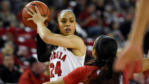 Marjorie Butler, Georgia point guard, will have final 'homecoming' Sunday