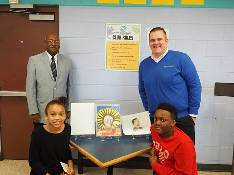 Winners of the Black History Month Art contest announced