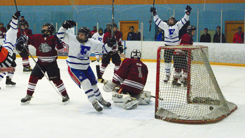 Peter's late goal nets cup for Admirals
