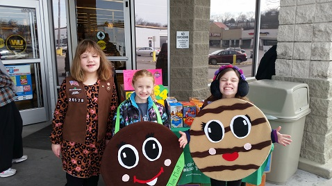 Just a few days left to get Girl Scout Cookies