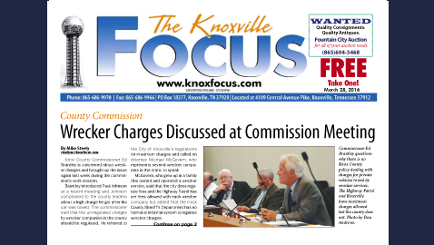 The Knoxville Focus for March 28, 2016