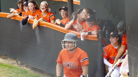 'Just playing together' is key to Powell's big week in softball