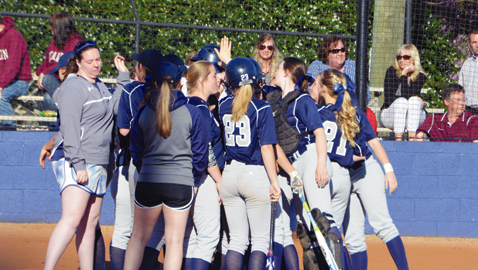 Lady Admirals win three, rout rival Bearden