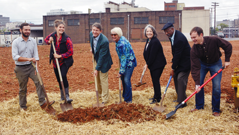 Knoxville breaks ground on Old City Gardens