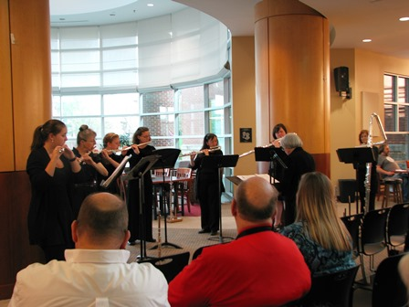 Grace Notes Flute Ensemble Concert to be at Blount County Public Library