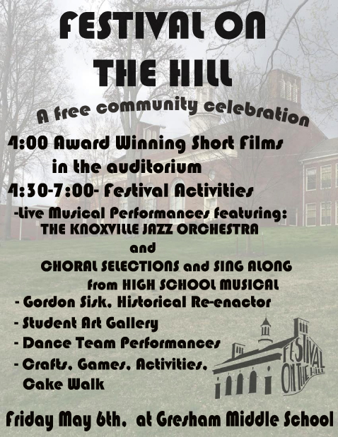 Festival on the Hill at Gresham Middle Friday